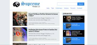 responsive blogger templates supreme v2 responsive blogger template free download