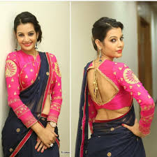 Full Sleeves Saree Designs 13 Chic Long Sleeve Saree Blouse Designs Ideas Keep Me Stylish