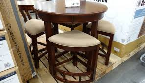 distressed living piece chairs square counter fulham set small round sets whitesburg table costco pub earl