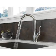 Leland Delta Kitchen Faucet Delta 9178 Ar Dst Leland Pull Down Spray Kitchen Faucet With
