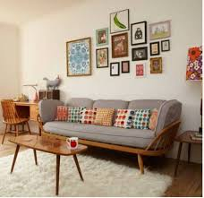 Awesome Retro Living Room Decor Home Office Retro Living Room Ideas With  Light Brown Sofa And