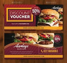 Food Voucher Template Mesmerizing 48 Restaurant Promo Card Templates Free Premium Templates