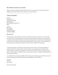 Example Of A Covering Letter For A Job Cover Letter When Unemployed
