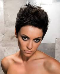 Spiky Hair Style short spiky haircuts and hairstyles for women 2017 very short 8171 by wearticles.com