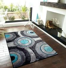 5 gallery living room rugs brown and turquoise rug