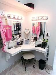 vanity table. Corner Makeup Vanity Table Best Home Decorating Ideas S