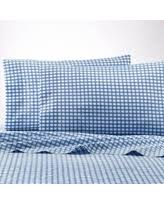 better homes and gardens sheets. Better Homes And Gardens 300- Thread- Count 100% Cotton Percale Classic Gingham Sheet Sheets