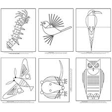 Coloring Pages Charley Harper Coloring Book Liandolacom