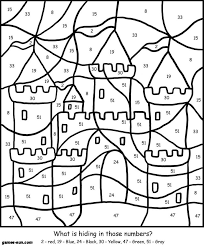 Small Picture cute aliens color by number cat color by number coloring page