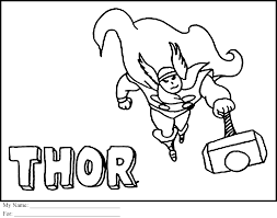 Small Picture big thor coloring pages to print for kids Coloring Point