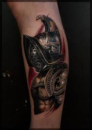 15 Invincible Gladiator Tattoos Tattoodo