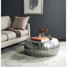 round silver coffee table silver coffee table round silver drum coffee table