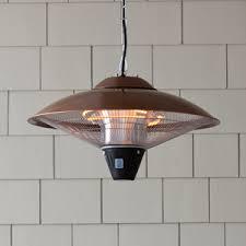 hanging patio heater. Fire Sense Hanging Copper Finish Halogen Patio Heater 60660 C