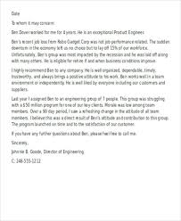 Sample Of Employee Reference Letter Letter Of Recommendation Sample Employment Calmlife091018 Com