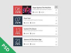 Calendar Templates For Websites 82 Best Web Design Layouts Images Design Websites Graph Design