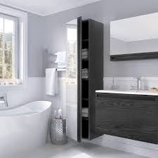 modern bathroom furniture. Wetsyle Element Linen Cabinet With Mirror | YLiving Modern Bathroom Furniture B