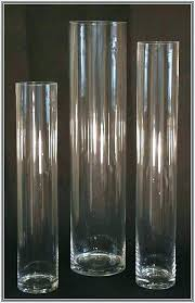 vases glass cylinder vase whole clean and clear glass vases bulk centerpieces home design ideas tall