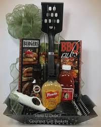 bbq gift basket grill tools cookbook rubs sauces lighter grill basket