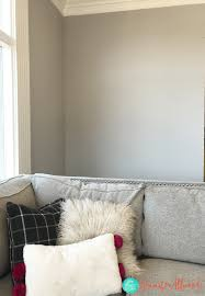Delightful Sherwin Williams Light French Gray Office Paint Color By Jennifer Allwood
