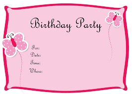 free printable invitation cards for birthday party for kids girl birthday invitation templates amazing girl birthday invitation