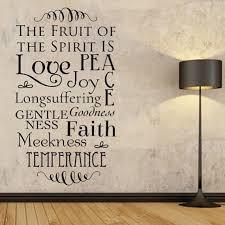 vinyl wall decal fruit of the spirit scripture wall sign vinyl