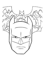25 Het Beste Batman Masker Kleurplaat Mandala Kleurplaat Voor Kinderen
