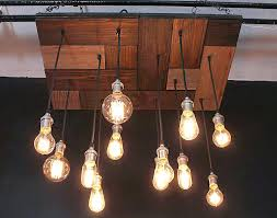 multi pendant mosaic wood chandelier here to enlarge reclaimed beam reclaimed wood chandelier