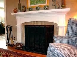 fireplace mantel shelf ideas craftsman style shelves surround elliptical arch living room mission design
