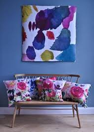 blue bell gray wall art