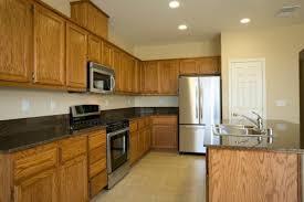 oak color cabinets. Beautiful Cabinets A Kitchen With Oak Cabinets Intended Oak Color Cabinets S