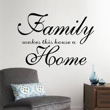 home garden family wall e wall sticker vinyl decal home decor paper wall mural awesome family
