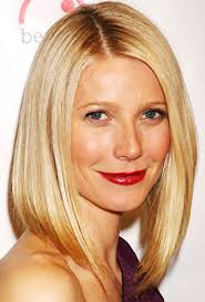 sleek lob if gwyneth paltrow s lob aka long bob doesn t make you want to get a um haircut nothing will an angled cut makes this flattering style