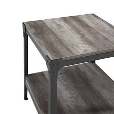rustic iron end tables page 1 line