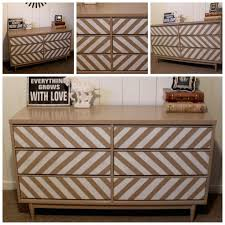 chevron painted furniture. vintage chevron dresser 55000 via etsy painted furniture