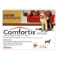 comfortis for dogs brown 27 54kg comfortis for dogs10