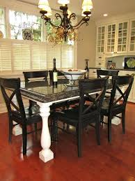 Amazing Design Granite Dining Room Table Newest Mission Style Set Interesting Granite Dining Room Tables And Chairs