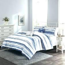 blue striped duvet cover blue striped orter medium size of and white stripe duvet cover on