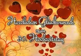 30 Hochzeitstag Glückwünsche Und Sprüche