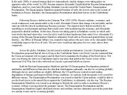 emancipation proclamation essay outline research paper writing   emancipation proclamation essay outline the emancipation proclamation essay during the richard wagner s essays outline the