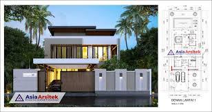 Cukup buat rumah anda 2 lantai maupun 3 lantai agar anda bisa memiliki rumah yang indah dan cocok untuk keluarga anda di rumah. Desain Rumah Mewah 2 Lantai Modern Minimalis Dengan Kolam Di Lahan 15 X 37 Meter