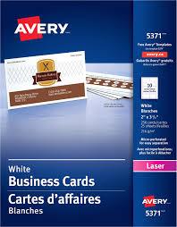 Avery Templates 5371 Business Cards The Hakkinen