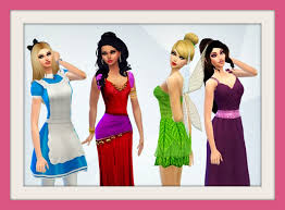 isleroux sims — My Disney Princess Collection now with CC Part...
