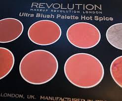 makeup revolution hot e blush review