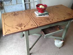 Small Picture Natural Vintage Kitchen Table The New Way Home Decor