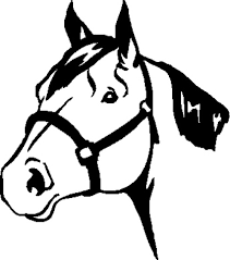 horse head clipart. Delighful Horse Horse Head Drawing Outline At GetDrawings On Clipart A