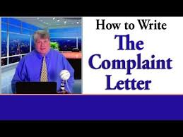 complaint letter how to write an effective letter of complaint  complaint letter how to write an effective letter of complaint