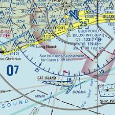Magnetic Variation Sectional Chart Gpt Gulfport Gulfport Biloxi Intl Ms Us Airport