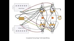 jimmy page (diy) 50's style mod youtube les paul wiring diagram with 3-way switch Les Paul Wiring Diagram #34