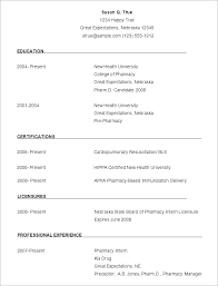 Free Sample Resume Templates Free Sample Resumes Templates Free ...