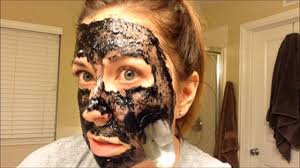 diy activated charcoal mask for blackheads and blemishes and a little heart to heart you